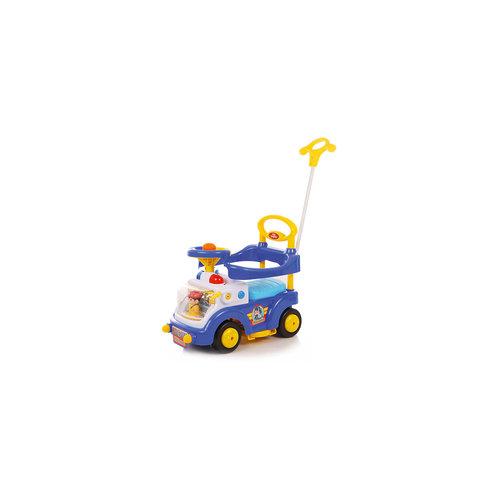Каталка детская Fire Engine, синяя, Baby Care