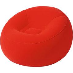 Кресло надувное, 112х112х66 см, красное, Bestway