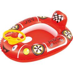 """Круг для плавания с сиденьем """"Автомобиль"""", Bestway, красный"""