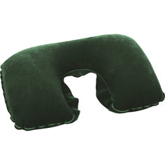 Подушка надувная под шею, темно-зеленая, Bestway
