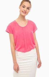 Блуза цвета фуксии с короткими рукавами Silvian Heach