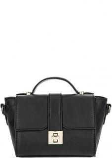 Маленькая черная сумка с одной ручкой Trussardi Jeans