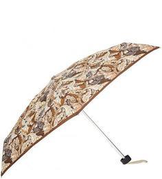 Механический зонт с коричневым куполом Zest