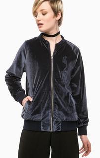 Легкая синяя куртка с вышивкой Religion