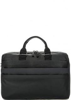 Текстильная сумка с короткими ручками Piquadro