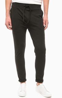 Серые зауженные брюки Lagerfeld