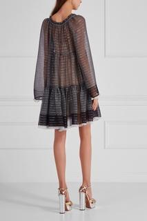 Шелковое платье Stella Mc Cartney