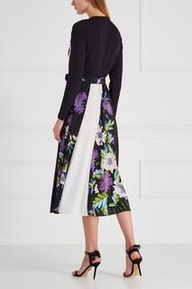 Шелковое платье-халат Diane von Furstenberg