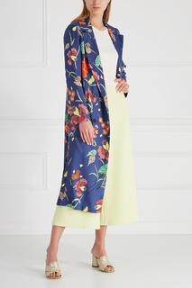 Шелковое пальто Diane von Furstenberg