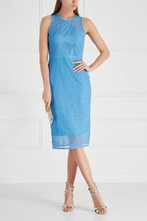 Однотонное платье-футляр Diane von Furstenberg