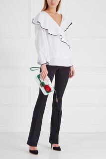 Хлопковая блузка Diane von Furstenberg