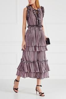 Плиссированное платье Romance WAS Born
