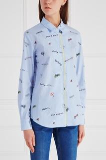 Хлопковая рубашка Mira Mikati