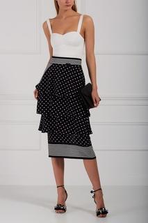 Шелковая юбка-миди Stella Mc Cartney