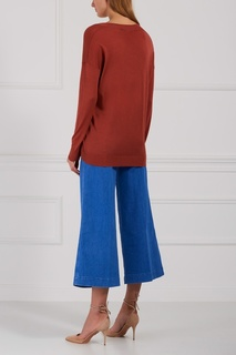 Пуловер из шерсти и шелка Stella Mc Cartney