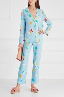 Шелковая пижама Mira Mikati