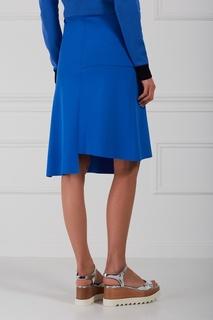 Однотонная юбка-миди Stella Mc Cartney