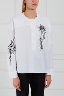 Хлопковая блузка Carven