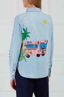 Рубашка из денима Mira Mikati