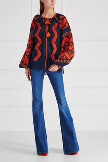 Льняная блузка Mina Vita Kin