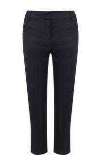 Укороченные брюки прямого кроя с карманами Giorgio Armani