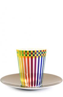 Набор Surface Colorée B29 из 2-х чашек с блюдцами Bernardaud