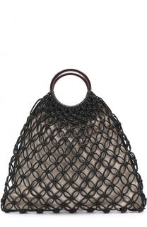 Плетеная сумка Cooper Michael Kors