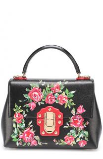 Сумка Lucia small с принтом Dolce & Gabbana