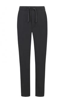 Хлопковые брюки прямого кроя с поясом на резинке Polo Ralph Lauren