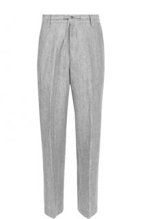 Льняные брюки свободного кроя Baldessarini