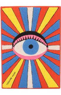 Клатч Eye с аппликацией Olympia Le-Tan