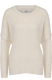 Кашемировый пуловер свободного кроя Zadig&Voltaire Zadig&Voltaire