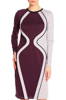 Платье комбинированное Adzhedo
