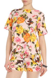Костюм: блуза, шорты Adzhedo