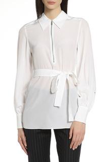 Блуза с поясом Max Mara