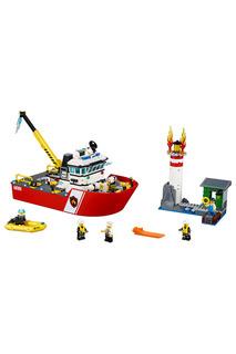 Игрушка Город Пожарный катер Lego