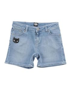 Джинсовые шорты Karl Lagerfeld