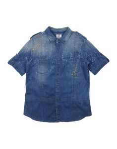 Джинсовая рубашка Mauro Grifoni Kids