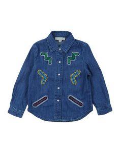 Джинсовая рубашка Stella Mccartney Kids