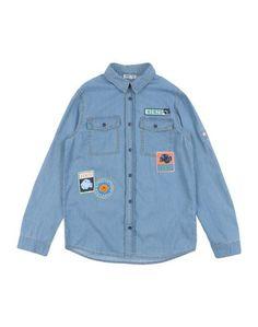Джинсовая рубашка Kenzo Kids