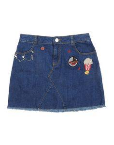 Джинсовая юбка Little Marc Jacobs