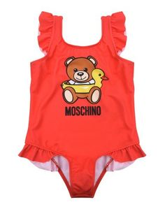 Слитный купальник Moschino Baby