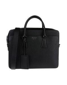 Деловые сумки Prada