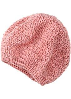Вязаная шапочка (розовая пудра) Bonprix