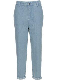 Укороченные джинсы-бэгги (нежно-голубой) Bonprix
