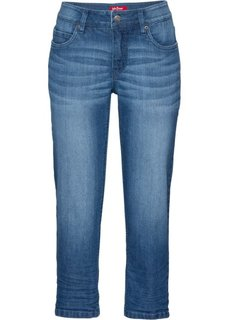 Стрейтчевые джинсы длины 3/4, cредний рост (N) (синий) Bonprix