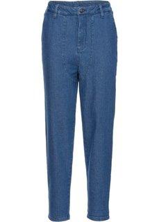 Укороченные джинсы-бэгги (синий) Bonprix
