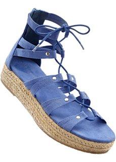 Сандалии на платформе (сизо-голубой) Bonprix