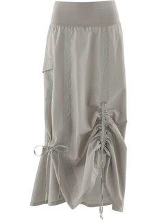 Льняная юбка (натуральный камень) Bonprix