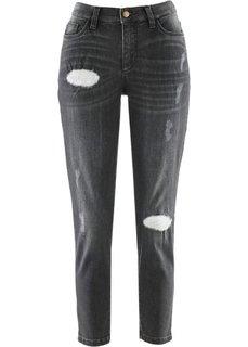 Джинсы длины 7/8 дизайна Maite Kelly (серый деним) Bonprix